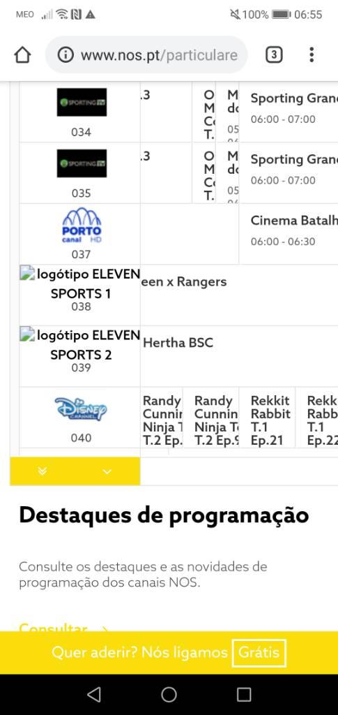 Eleven Sports Page 38 Desporto A Televisao